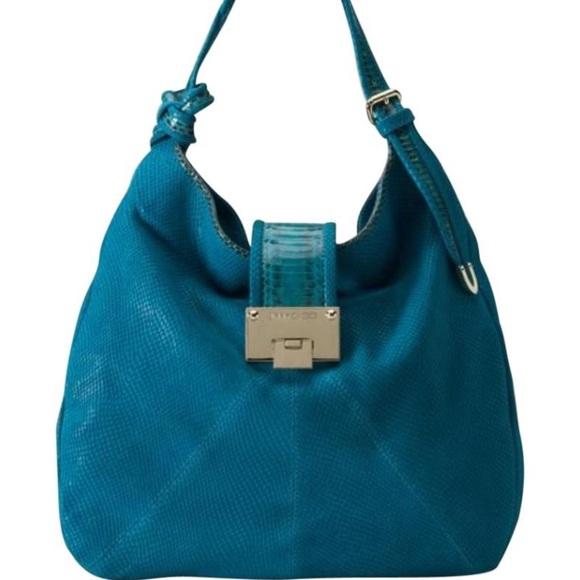 1f448b6f62 Jimmy Choo Bags   Jimmy Chop Turquoise Purse   Poshmark